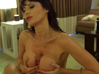 mom darkhaired with big breasts fornicateed hard - eva karera