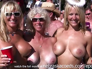 naked pool party key west florida unconditional vacation video - public
