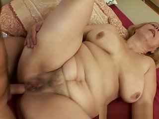 Fat Mature Blonde Loves More Ride