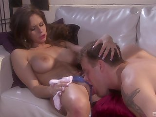 After pussy trample Mikayla Mendez is ready for the best go down retreat from always