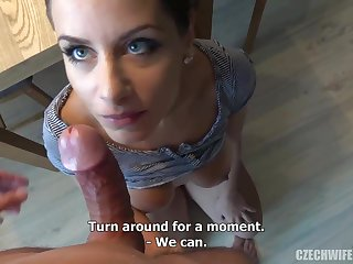 Czech femmes were deepthroating sausages not far from front of the camera, fitting for manifold of them needed cash