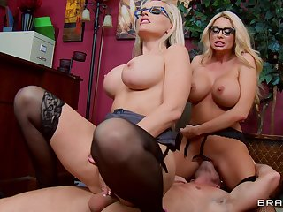 Compilation be required of busty mature pornstars having hardcore sex. HD