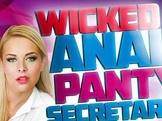 Nikky Dream in Wicked Anal Panty Scrivener Nikki Dream - StockingsVR