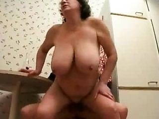Russian mature fit together cheating with young dude