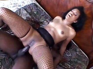 Amateur, Anal, Black, Black amateur, Black anal, Ebony, Hardcore, Heels, Stockings,