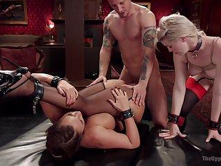 Phoenix Marie and Ella Nova are duo submissive sluts on a mission