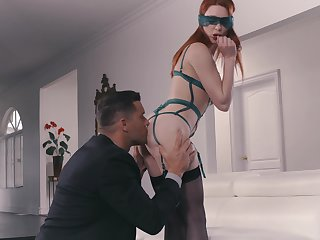 Passionate redhead is suited fro the biggest dick she ever felt