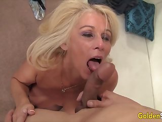 Golden Slut - Breathtaking Matures Worship Beamy Cocks Compilation