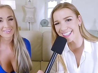 Daisy Lee And Alexis Crystal - Covid Embrocate Prevalent Two Czech Girls