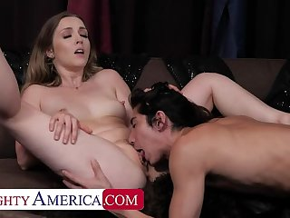 Naughty America: David be passed exposed to fortune teller predicts Karla Kush is going to get fucked!! exposed to PornHD