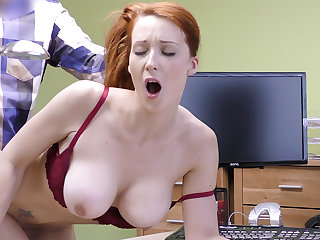 Big-Boobed sandy-haired mature have rigid hookup for asseverative
